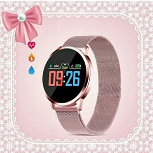 Ladies Smart Watch Fitness BP HR